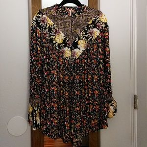 Free People Bell Sleeve Tunic
